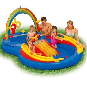 Rainbow pool for small children