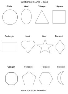 Geometric Shapes 2D