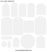 Labels template