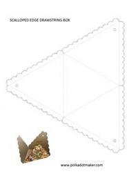 drawstring box template