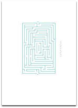 Easy Mazes | Fun Activities For Children
