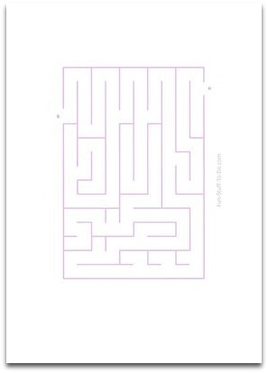 easy maze, simple maze
