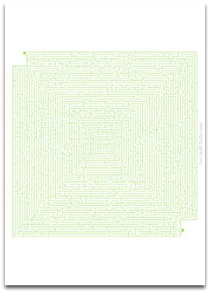 difficult printable mazes