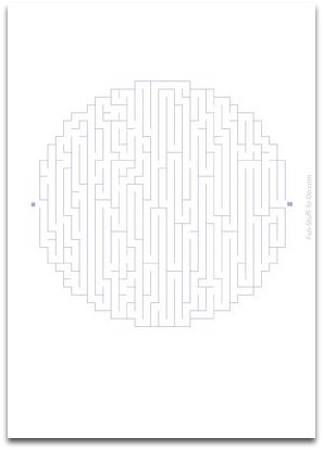 medium maze, easy maze