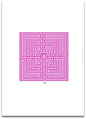 pattern maze