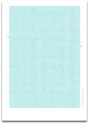 most difficult maze