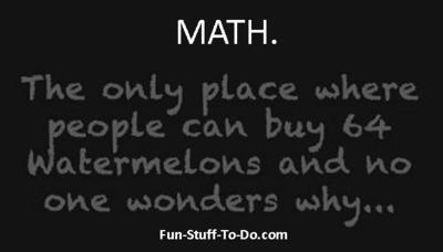 Strange Math