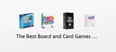 Best board and card games