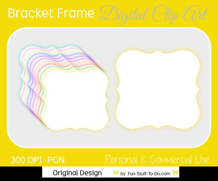 glow bracket frame