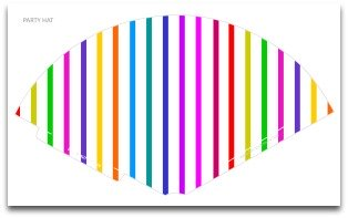 party hat template,party hats,party hat pattern,striped party hat,candy color party hat,birthday party hats,party decoration ideas,kids birthday party suppplies,birthday party decoration,cone shape