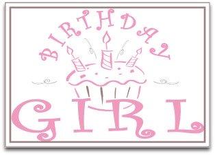 printable birthday girl banner