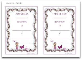 free printable invitation, invitation wording,