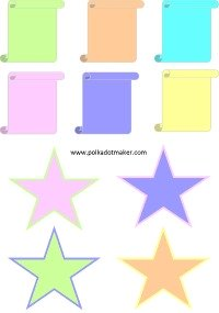 free tags, printable tags, free cards, free labels, pastel colour cards