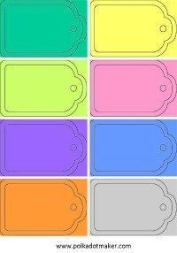 Free tags, free labels, free cards, plain cards, printable tags