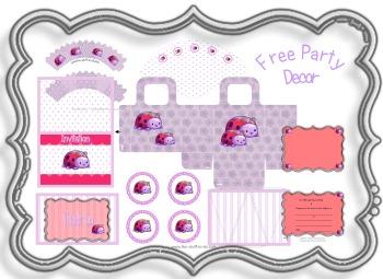 Ladybug Party Ladybird Decorations 1st Birthday Ideas Theme