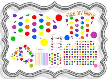 polka dot party decorations, birthday party themes, birthday party hats, kids birthday party ideas, party decorating ideas, birthday party decoration, party decorations, party kit