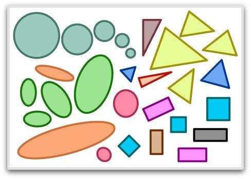 2D shapes, basic geometric shapes, solid geometric shapes, shapes, basic shapes, solid shapes, geometrik şekiller