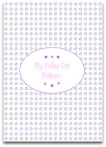 polka dots, purple, templates, printable, high resolution