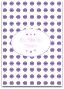 polka dot, pearls, templates, printable, scrapbook paper