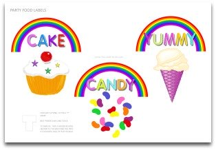 food labels, party labels, party decoration ideas, kids birthday party ideas, party food ideas, party snacks,