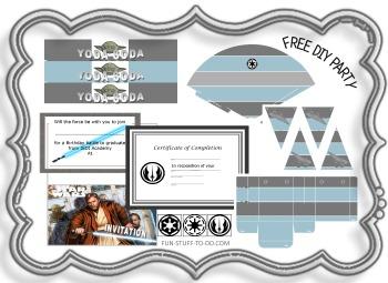 image regarding Star Wars Birthday Invitations Printable identified as Star Wars Social gathering Decorations