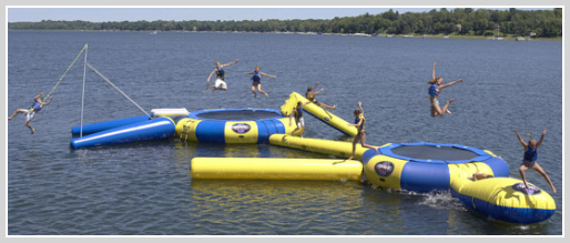 best water trampoline,