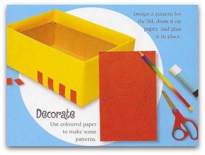 decorate craft tool box