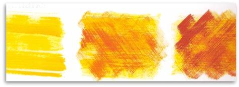 paint brushmarks technique textured paper