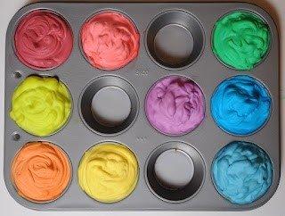 make paint with shaving cream