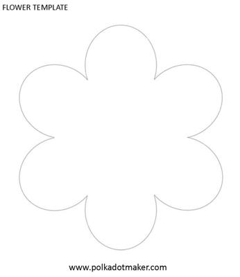 Cake Decorating Flower Templates : Flower Template