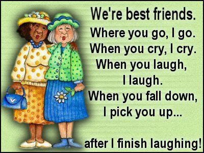 Older Woman Friendship Sayings