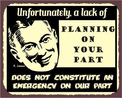 Funny Emergency Sayings
