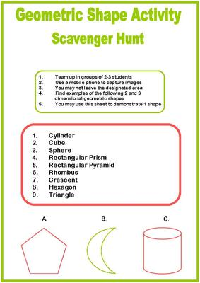 Geometric Shape Activity