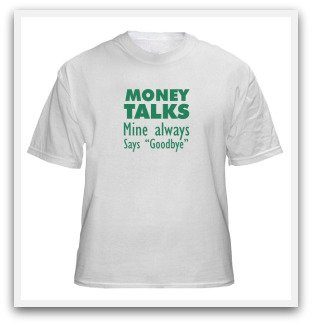 quips about money
