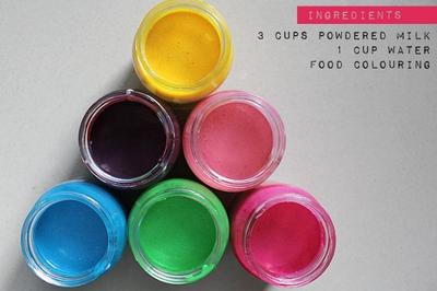 Edible Baby Safe Finger Paint Recipe