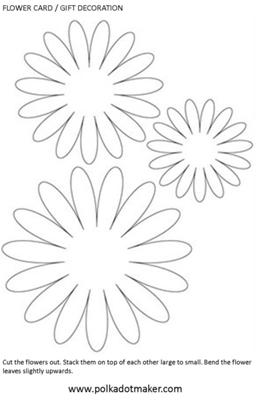 Paper flower for Free paper flower templates
