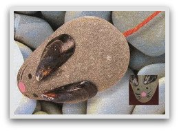 pebble pets, pebble faces, pebble creatures, fun with pebbles, pebble fun, easy crafts, easy crafts for kids, fun ideas