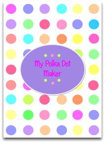polka dots, candy, variety colors