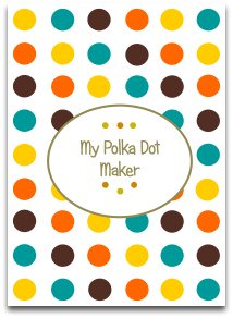 polka dots, modern, trendy, latest modern colors, modern decorations