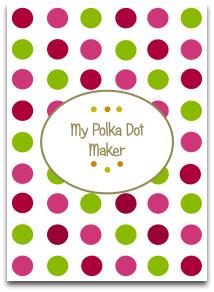polka dot, modern colors, fashionable, templates, high resolution