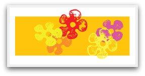 potato prints and stamps, flower prints, potato prints, potato stamps, prints with potatoes, easy craft, fun craft, fun ideas, craft shapes,