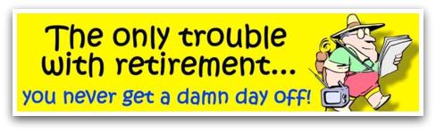 retire, pension