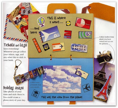 travel craft ideas easy crafts for project 7 how to make a scrapbook 3136