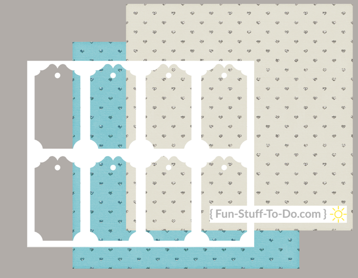 Transparent fancy tag overlay template png pdf instant download craft pattern