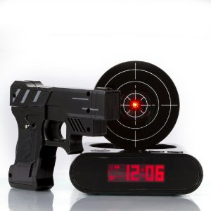 Target Alarm Clock - Black