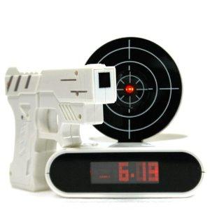 Target Alarm Clock - White
