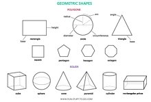 Polygons and 3D shapes