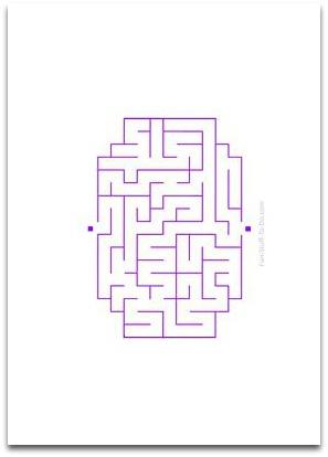 easy mazes, simple mazes