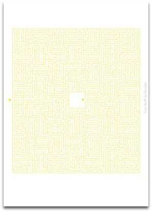 printable maze