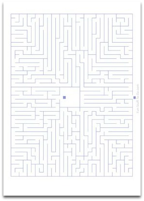 medium difficulty maze